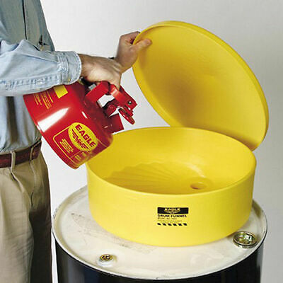 "EAGLE Side-Wall Poly Funnel - 18"" Diameter Top Opening"