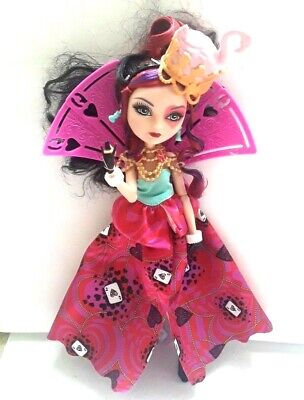 """Monster High Doll Ever After Lizzie Hearts Queen Way to Wonderland 11"""""""