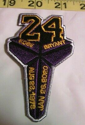 Kobe Bryant Los Angeles Lakers Legend Patch - Iron On/Sew On (T2)