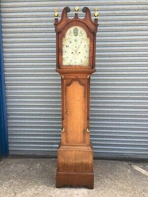 Antique Longcase Clock Royston maker William Henry Andrews Snr.