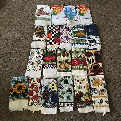 Vintage Kitchen Towels - Random Variety