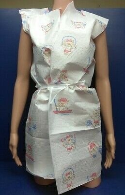 "(100 Gowns) Graham Medical Pediatric Exam Gown 20"" x 36"" Activity Bears"