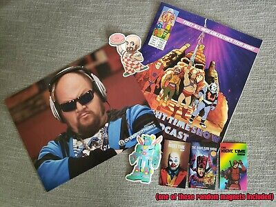 Gustavo Package (Comic & Photo signed by Stephen Kramer Glickman)