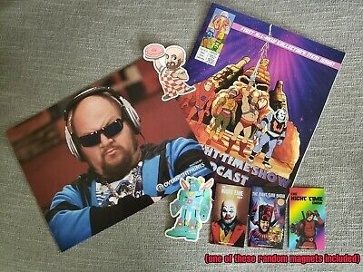Gustavo Package (Comic, Stickers & Photo signed by Stephen Kramer Glickman)