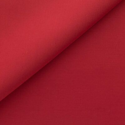 "Red 60"" Wide Premium Cotton Blend Broadcloth Fabric By yard"