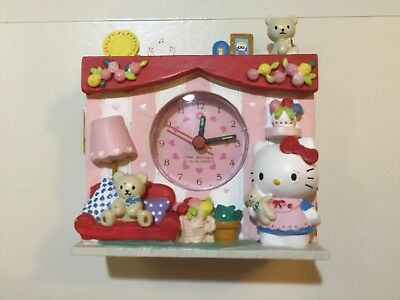 Vintage Sanrio Hello Kitty ceramic clock