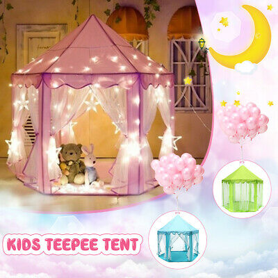 Kids Play Tent Playhouse Princess Castle Baby Children House Toy For Girl   a