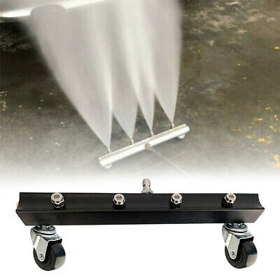 Under Car Pressure Cleaner Nozzle Rolling Water Broom Power Washer Attachment