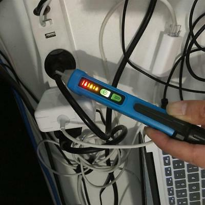 Non-Contact AC Voltage Detector Electrical Tester Handy Volt Stick Pen LED NEW