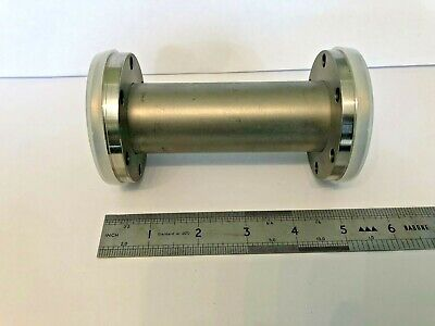 """Vacuum Extension Tube Fitting 2.75"""" x 2.75"""" UHV  Flanges 5"""" Stainless Steel"""
