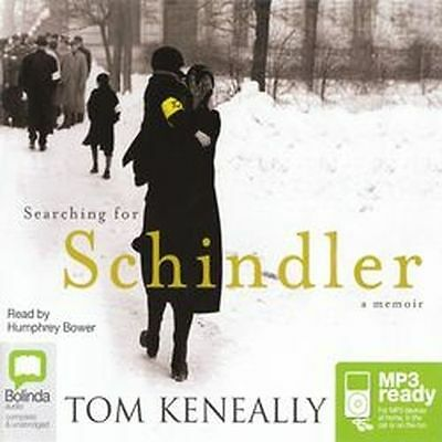 Tom KENEALLY / SEARCHING for SCHINDLER           [ Audiobook ]