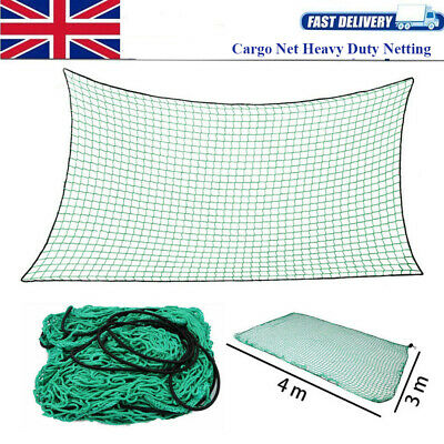 Heavy Duty Cargo Net for Trailers, Pick-ups & skips up to 3m Long x 4m Wide