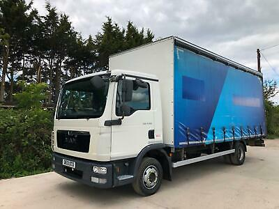 2013 Man Tgl 8.150 Curtainsider 7.5 Ton Manual Gears 1 Owner Ideal Scaffolding