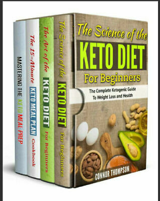The Complete Keto Diet Plan for Beginners – 4 Book Set –  (P.D.F)
