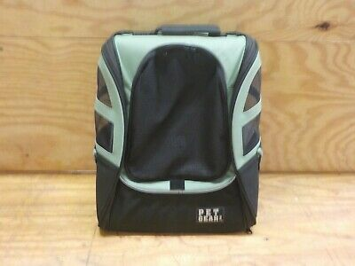 Pet Gear I-GO2 Roller Backpack, Travel Carrier, Car Seat for Cats/Dogs, Mesh Ven