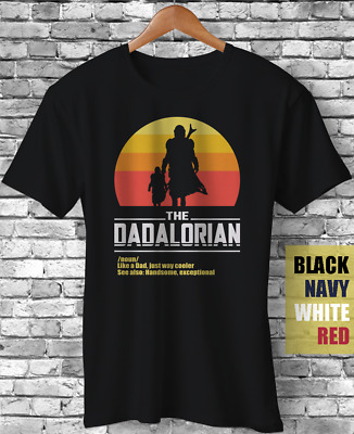 The Dadalorian Funny Fathers Day Gift T-Shirt best dad movie meme fatherhood tee