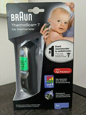 NEW  BRAUN ThermoScan 7 Ear Thermometer IRT6520  with Age Precision