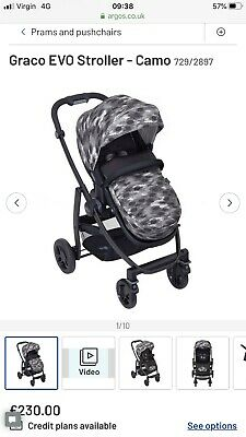 Graco Evo Camo Pushchair