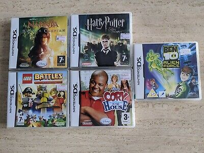Nintendo DS Game Bundle 5 x Boxed Games. TESTED & WORKING. FREE UK POSTAGE.