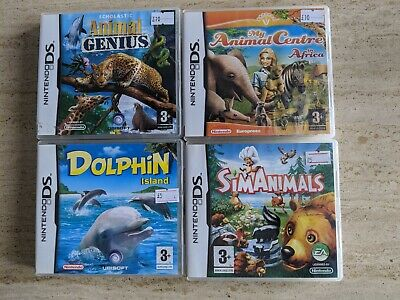 Nintendo DS Game Bundle 4 x Boxed Games. TESTED & WORKING. FREE UK POSTAGE.