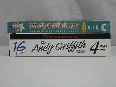 TV Classics Lot The Andy Griffith Show 4 disc 16 episode set, Full Season 2.. VG