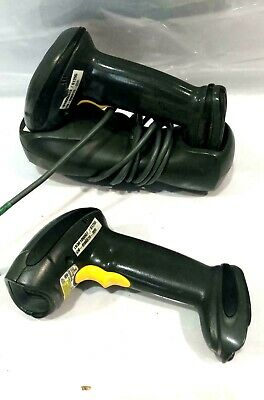 LOT OF 2 -Motorola Symbol DS6878 & Cradle Wireless 2D Barcode Scanner BlueTooth