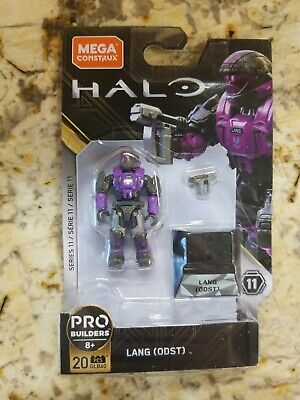 Mega Construx Halo Heroes Series 11 Lang ODST HTF In-Hand Fast Free Shipping