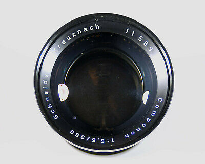 360 mm Schneider Componon enlarging lens, serial 11569241