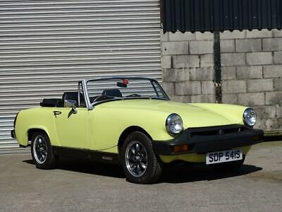 1977 Mg Midget 1.5 65 Bhp Classic Convertible Sports Car Only 17K Miles Yellow