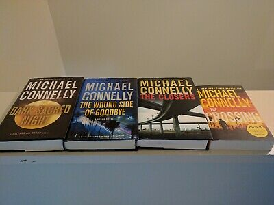 Michael Connelly Lot Of 4 Books