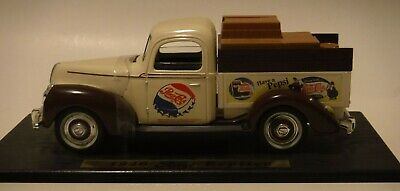 Pepsi 1940 Ford Delivery Truck Replica Model on Base