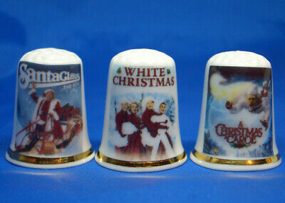 Set of Three Birchcroft Thimbles Classic Film Posters