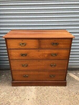 Edwardian chest of drawers clean