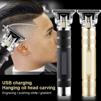 HOT Portable Electric Pro T-outliner Cordless Trimmer Wireless Hair Clipper Set
