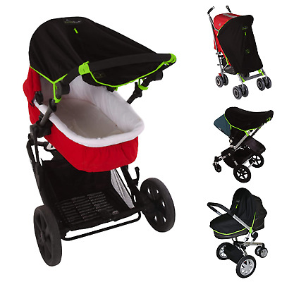 Stroller Sun Cover (0-6m) | Baby SunShade and Blackout Blind for Strollers