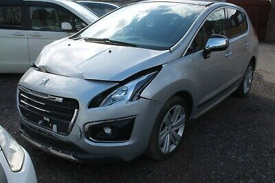 2015 Peugeot 3008 Allure E-Hdi 1.6 S-A Damaged Salvage Only 12,000 Miles