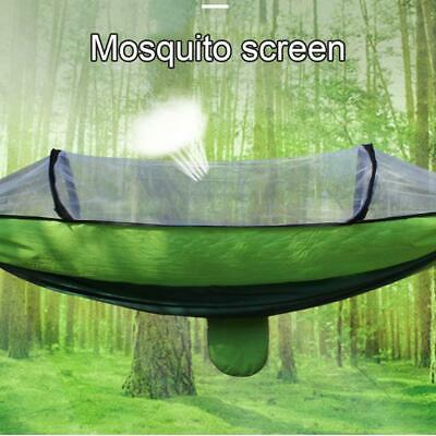 Camping Hammock With Mosquito Net Cover Double Portable Rainfly Tent~ And R5S2
