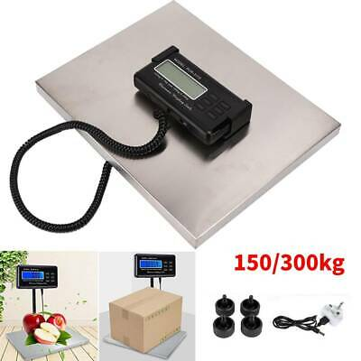 Heavy Duty 150/300KG LCD Industrial Platform Postal Shipping Weighing Scales
