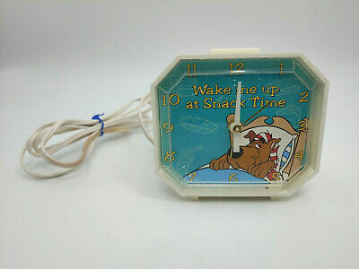 Vintage Scooby-Doo Electric Alarm Clock by Westclox