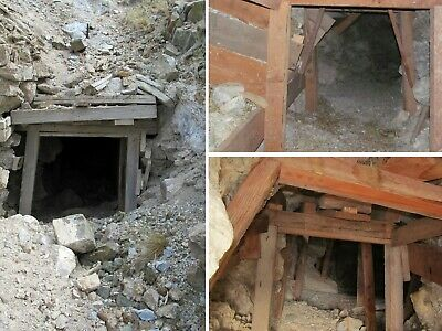 Nevada Gold + Silver Mine Lode Mining Claim Copper Shaft Tailings Cavern Peak NV