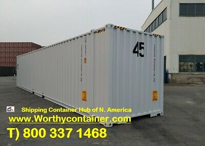 45' High Cube New Shipping Container / 45ft HC One Trip in Detroit, MI