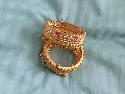 indian gold plated bangle sets
