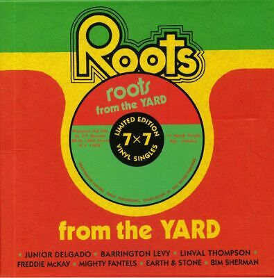 """VARIOUS - Roots From The Yard (Record Store Day 2019) - Vinyl (7"""" box)"""