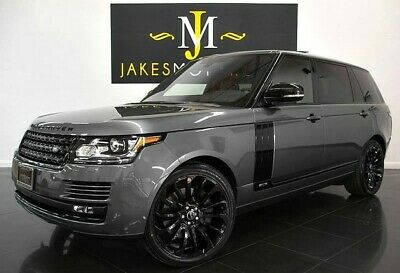 2016 Land Rover Range Rover Supercharged LWB ($121,930 MSRP)~ LONG WHEEL BASE 2016 Range Rover Supercharged LWB~$121,930 MSRP~LONG WHEEL BASE~ ONLY 19K MILES