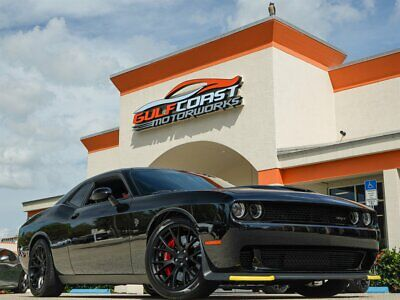 """2016 Challenger SRT Hellcat 20"""" Forged Matte Black Wheels, 8-Speed Automatic Transmission, Power Sunroof"""