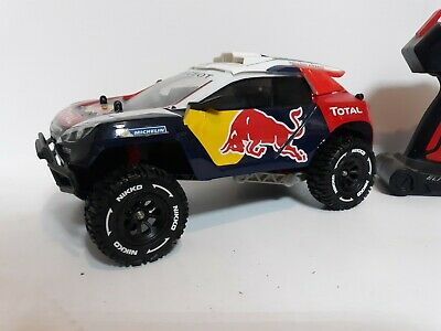 1:18 scale Redbull rally car, elite series with engine sounds and 3s lipo.
