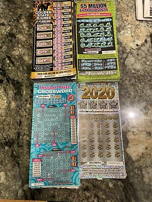 (50) Golden State riches  tickets $20 Second Chance Scratchers 2nd Redeemable