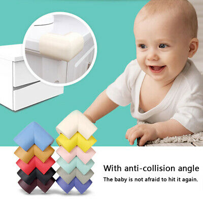 8 x BABY SAFETY CORNER CUSHIONS-DESK TABLE COVER PROTECTOR - SAFE FOR CHILD