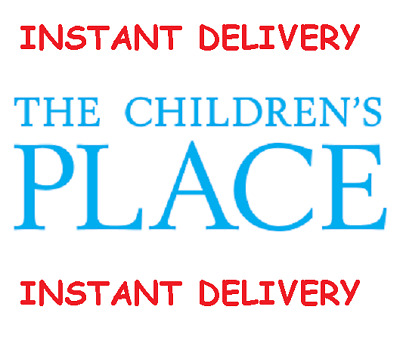 FIVE (5) Children's Place $10 Off $40 Coupon Childrens Place *INSTANT DELIVERY*