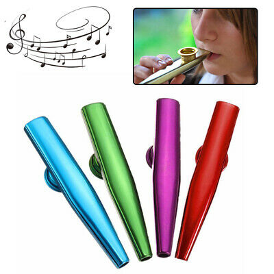 Kazoo Metal Guitar Instrument Percussion Preschool Education Harmonica Flute Toy
